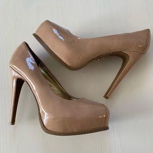 Vera wang nude heels